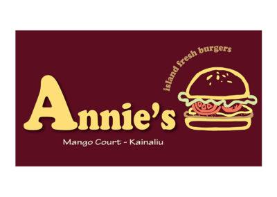 Annie's Island Fresh Burgers